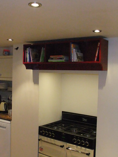 Shelves with Cookery Books
