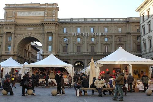 Piazza della Repubblica: festa del cioccolato