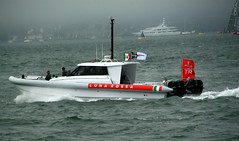 vehicle, sea, skiff, boating, pilot boat, motorboat, rigid-hulled inflatable boat, watercraft, boat,