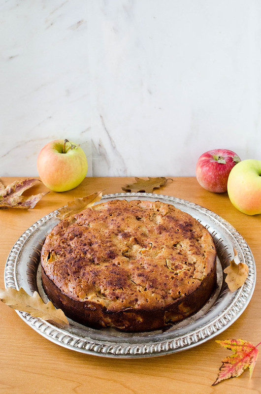 Buckwheat Apple Cake (Gluten Free)
