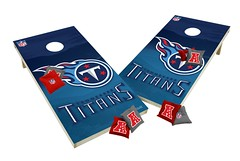 Tennessee Titans Custom Cornhole Boards XL