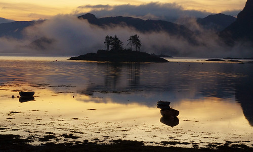 Sunrise at Plockton, Scotland by Melnikovi