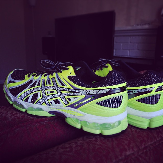 My first running shoes.