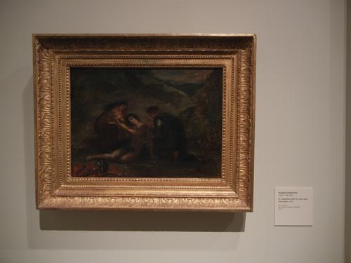 DSCN7948 _ St. Sebastian with St. Irene and Attendant, 1858, Eugène Delacroix (1798-1863), LACMA