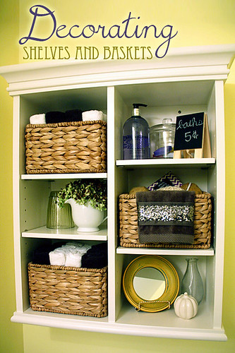 Decorating-Shelves-and-Baskets