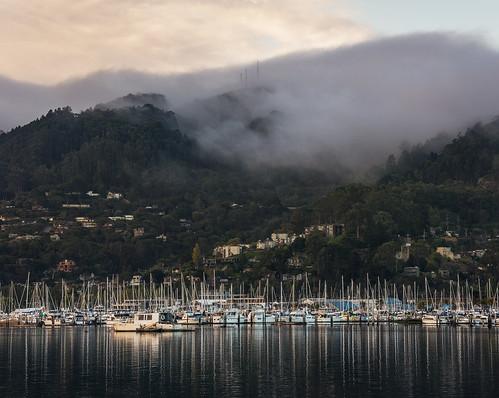 ocean sanfrancisco california fog landscape photography photo nikon photograph bayarea shipyard tiburon d800 kevinmacleod d800e nikond800e unrangedcom