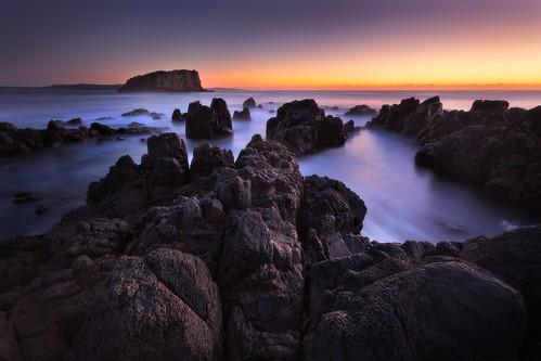Minnamurra Pre Dawn Seascape