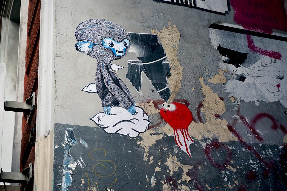 John Reaktor Sam Crew. Street Art Hamburg