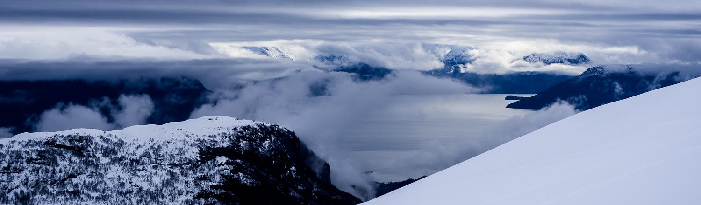 4. Hardangerfjorden. Vista invernal. Autor, Torbjørn T