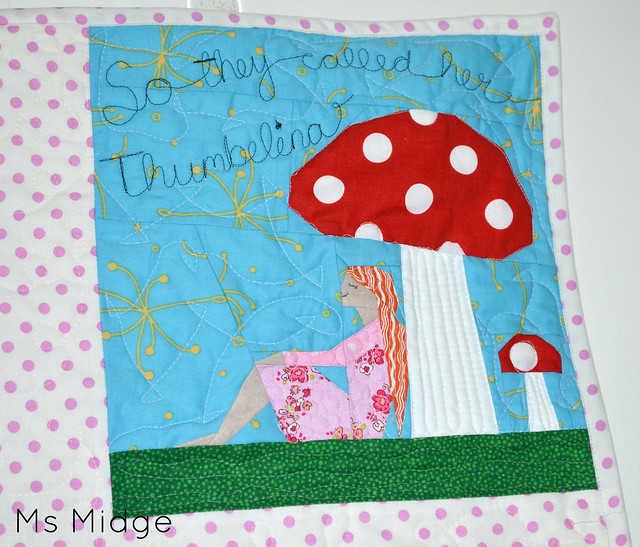 Paper Pieced Thumbelina