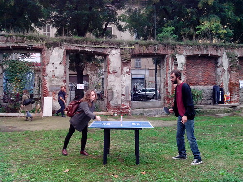 "Ping - Pong al ""Non Riservato"" by Ylbert Durishti"