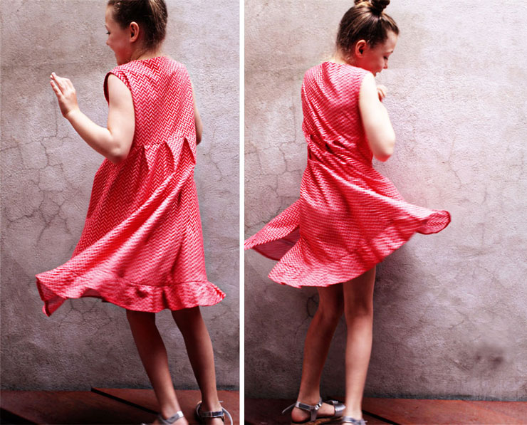 Ruffle Dress #1