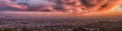 sunset panorama losangeles nikon stitch santamonica observatory planetarium 70300mm tamron cityofangels d800 griffithparkobservatory labasin 'griffith