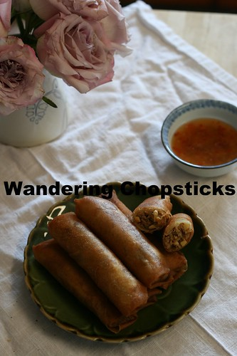 Indonesian Lumpia Semarang with Bamboo Shoots, Dried Shrimp, and Scrambled Eggs 1