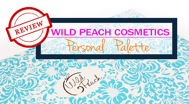 wild peach cosmetics palette review