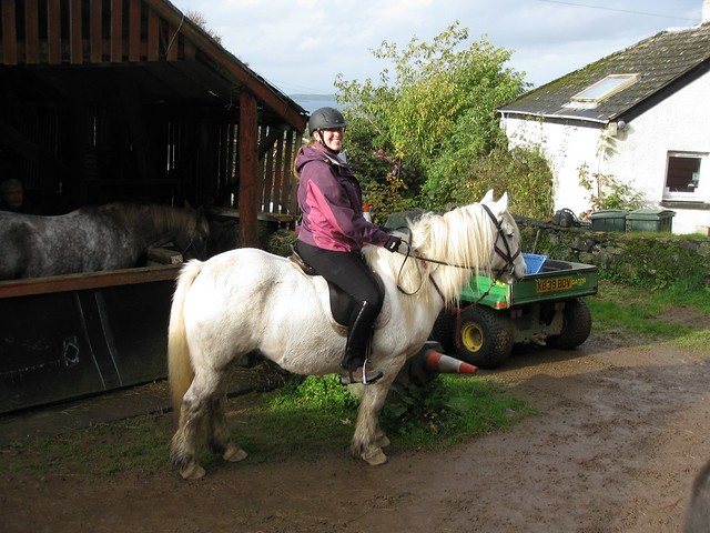 Me riding Arran