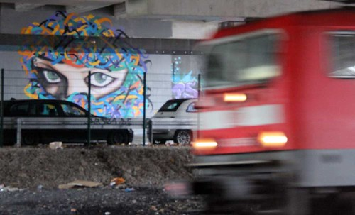 Graffiti from Middle East in Germany by A1one A.k.a Tanha