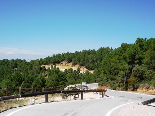 A 317 hinter Pontones auf dem Weg nach Hornos