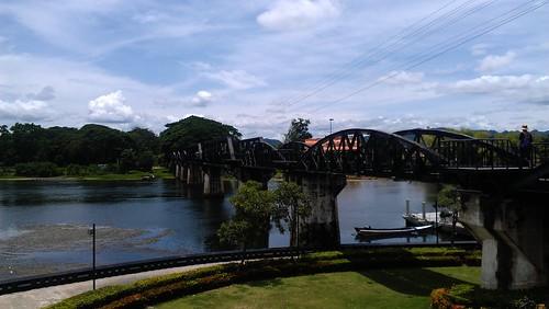 bridge thailand kanchanaburi riverkwai