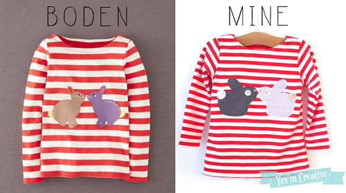 Boden Bunny Top Knockoff