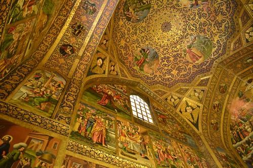 Cúpula de la Catedral de Vank (Catedral armenia de Isfahán, Irán)