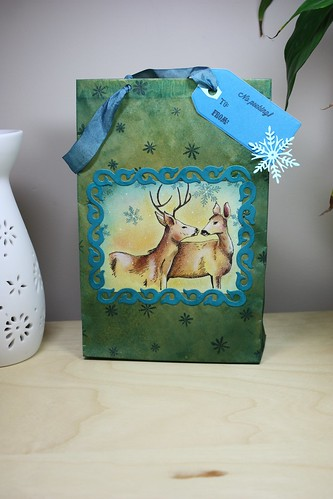 Tall Paper Bag Gift Bag Front