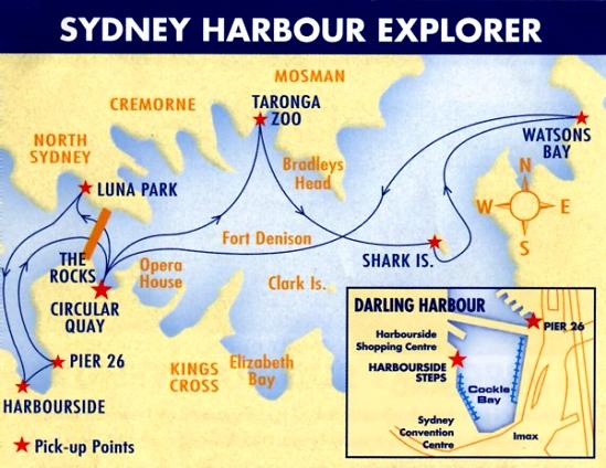 【雪梨】雪梨港 Sydney Harbour 海上巡遊 (二)