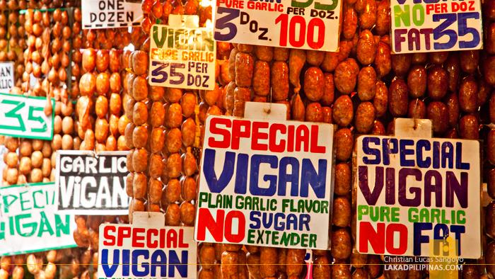 Longanisa Galore at the Baguio City Public Market