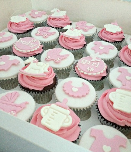 Pink Baby Shower Cupcakes : Flickriver: Most interesting photos tagged with baby