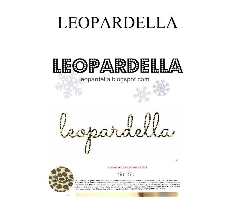 Leopardella 1yo