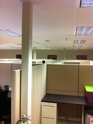 Pole Based Cubicles : Archive furniture portfolio no longer used