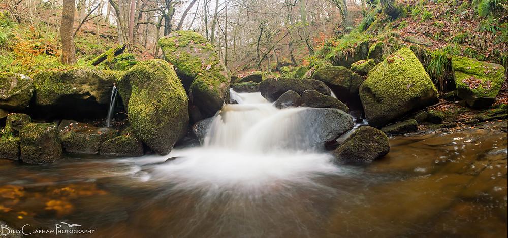 Billy clapham padley gorge peak district landscape photography