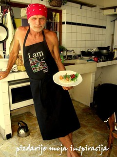 Čedo in Taste of Croata apron