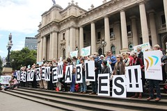 No allocation changes to Yes to Renewables | No coal export rally 10 Dec 2013