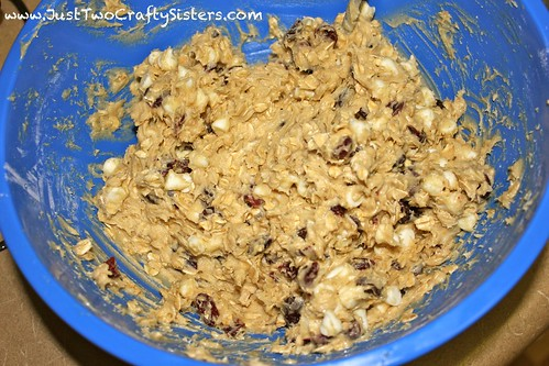 Cranberry oatmeal white chocolate cookie recipe