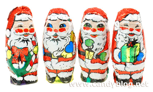SweetWorks Milk Chocolate Santas
