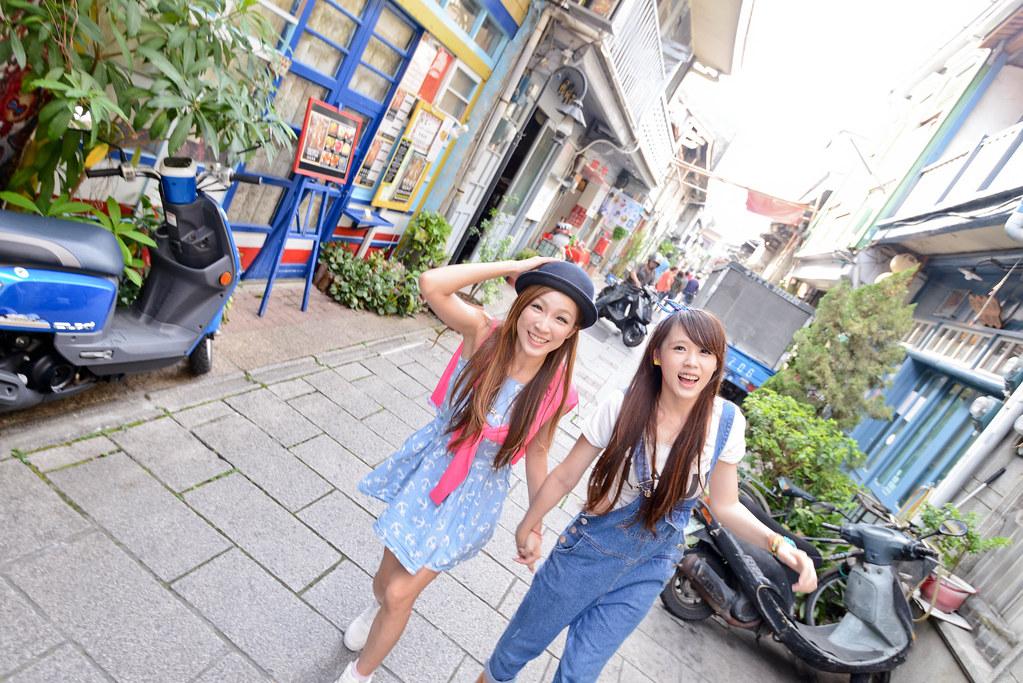 台南景點 - 神農街