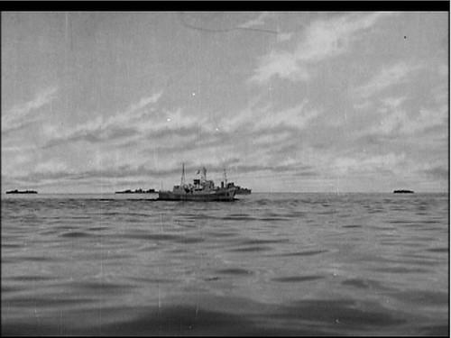 o at sea