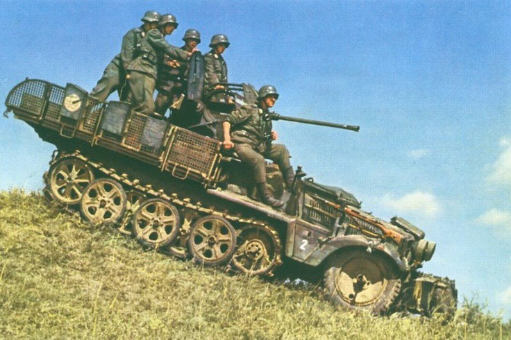 German 50 Mm Anti Tank Gun: Ace Models 72225