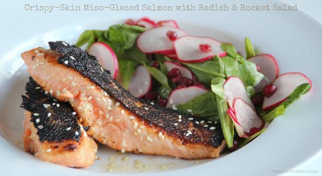 Crispy-Skin Miso-Glazed Salmon 2