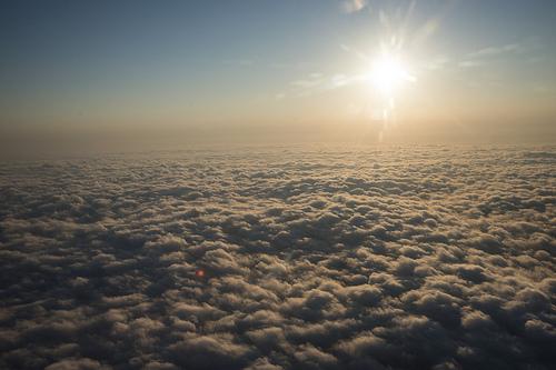 大氣變化在氣候變遷中一直都是難以預測估算的因素之一(圖片來源:NASA)