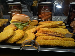 meal, tonkatsu, frying, deep frying, fried food, seafood, food, dish, cuisine, fast food,