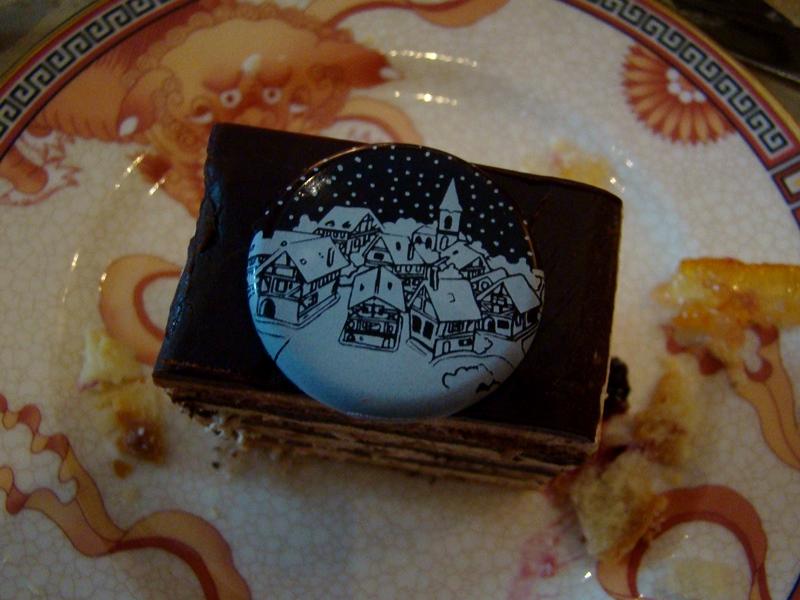 Shangri-La chocolate truffle