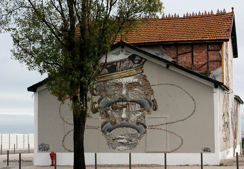 Grafiti Jardim Tabaco, Lisboa by SandraFotosPortfolio
