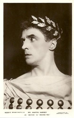 Martin Harvey in Oedipus Rex