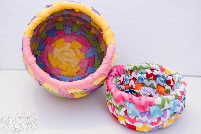 Hand woven Bali Basket
