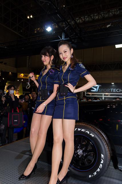 Goodyear tokyo auto salon 2014 show girl makuhari chiba japan flickr photo sharing - Tokyo motor show 2014 ...