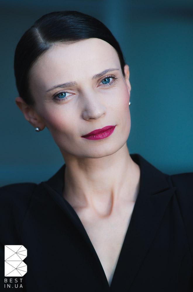 Natalia Osadcha, Fashion editor of Elle Ukraine