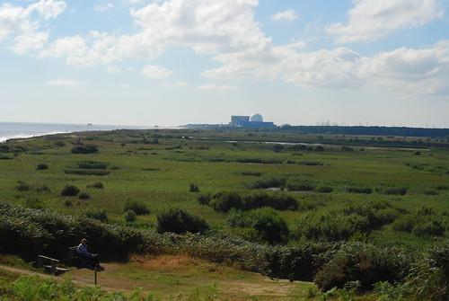 Dunwich Heath下方是RSPB的保護區。