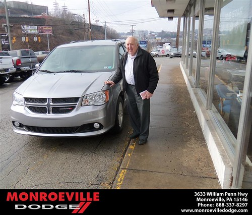 Happy Anniversary to Robert Wiedenhoff on your 2013 #Dodge #Caravan from Scott Butler  and everyone at Monroeville Dodge! #Anniversary by Monroeville Dodge